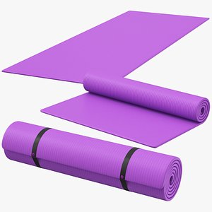 3D Yoga Mat Set 02