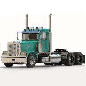 3D truck cab model