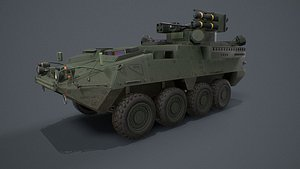 Stryker Shorad A1 model