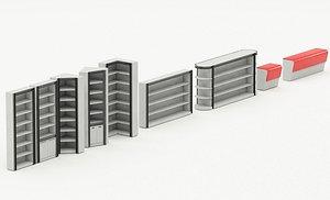 3D model Product Shelf