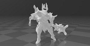 3D model Mordekaiser