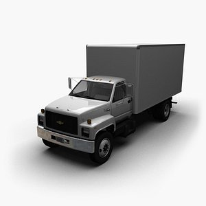 box chevy kodiak 3D