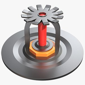 Fire Sprinkler 001 3D model