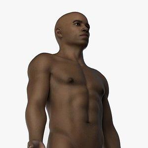3D model African Male Body