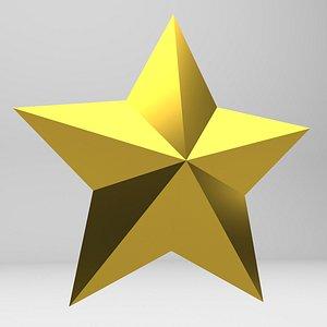 3D model Star Object