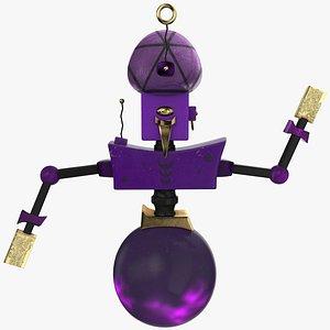 3D Tarologist Robot