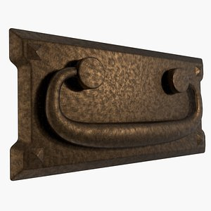 handle furniture bronze 3D