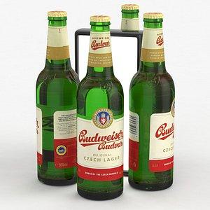 beerbottle piwo 3D