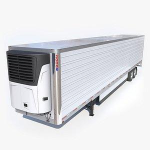 Foot Refrigerated Trailer model