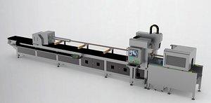 3D Laser-automatic-pipe-cutting-machine-3ds