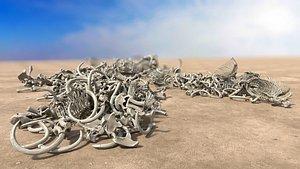 bone pile model