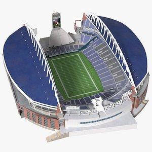 3D Multi Purpose Stadium model
