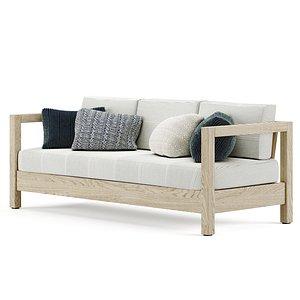3D arca armchair