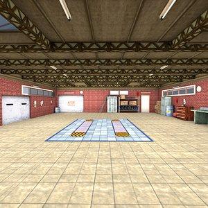 3D 3D Low poly Garage
