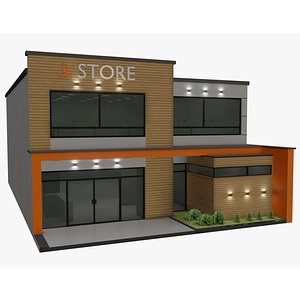 house store space 3D model