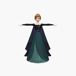 3D Anna Queen model