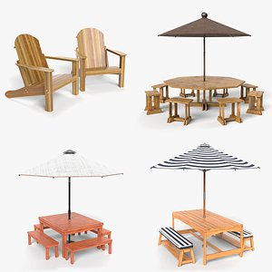 3D patio furniture