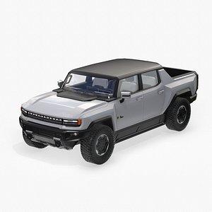 3D GMC Hummer EV model