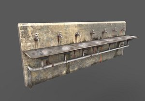 3D abandoned multiple drinking water