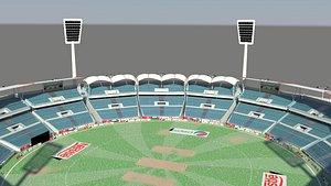 3D cricket stadium