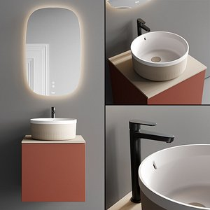 Fiora Sen Vanity Unit Set 1 model