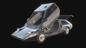 3D model pangolina car