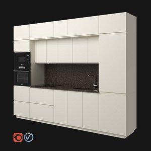 3D voxtorp kitchen modern