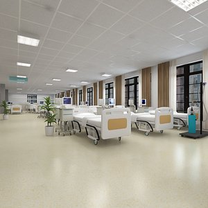 3D Big Wardroom for Emergent Patient Accommodation during Pandemic