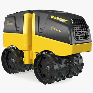 3D Bomag BMP 8500 Trench Roller