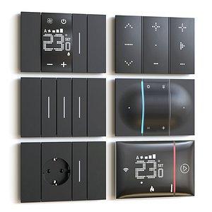 living switch 3D model