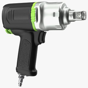Air Impact Wrench 3D model