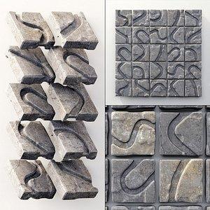 panel polygon 3D model