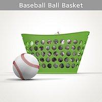 Baseball Ball Basket