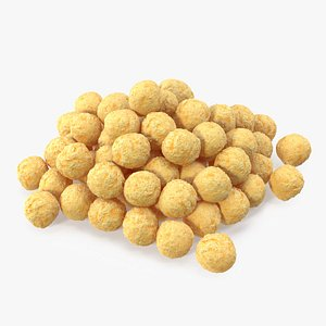 Pile of Cereal Balls 3D model