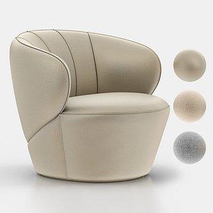 upholstered seamless 3D model