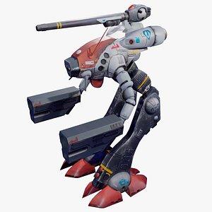 Glaug Battle Pod 3D model