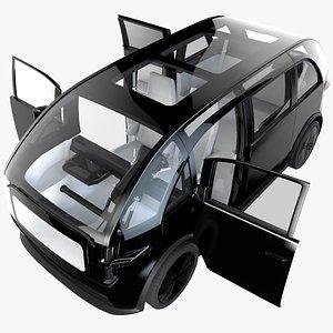 car concept 3D model