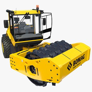 3D BOMAG BW226 PDH5 Single Drum Compactor New Rigged
