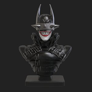 Batman who Laughs 3D model
