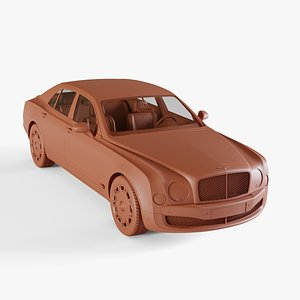 3D bentley mulsanne model