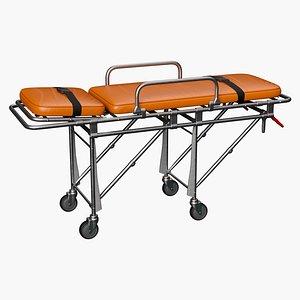 stretcher trolley 3D model