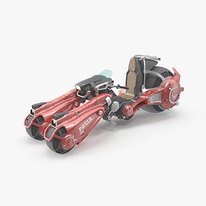 Pasla SciFi Tricycle 3D