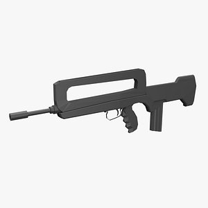firearm weapon gun 3D model