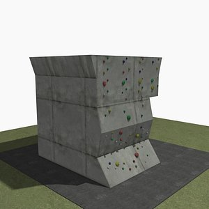 Climbing Wall Gym 3D