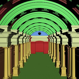 3D hall h model