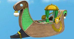 Royal Viking Ship model