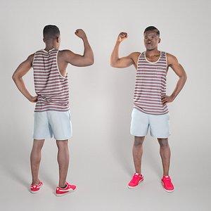 photogrammetry young man 3D model