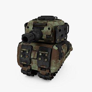 Advance mecha SD tank 3D model
