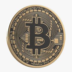 Bitcoin 2 3D model