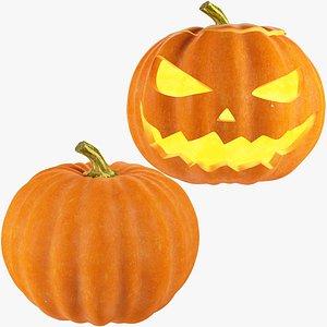 3D Halloween Pumpkins Collection V2